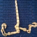 Резьбовой рычажный натяжитель крепежных цепей