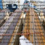 увязка леса и других грузов на платформе