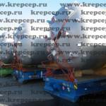 стяжка контейнеров страховочными цепями