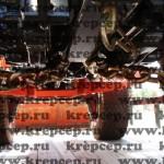 Крепежные цепи имеют на концах крюки, которые можно цеплять за петли на технике