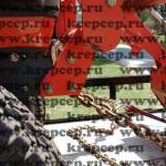 Стяжные цепи увязывают технику и устойчиво крепят груз
