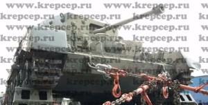 крепление танка вероятного противника цепями